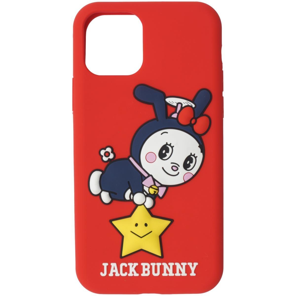 [2020年モデル] ジャックバニー ドラえもん 願い星iPhoneケース 11PRO対応 レッド 100 メンズ ゴルフ