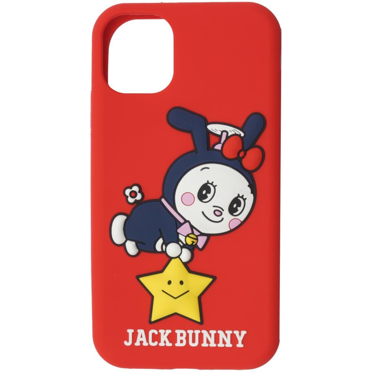[2020年モデル] ジャックバニー ドラえもん 願い星iPhoneケース 11対応 レッド 100 メンズ ゴルフ