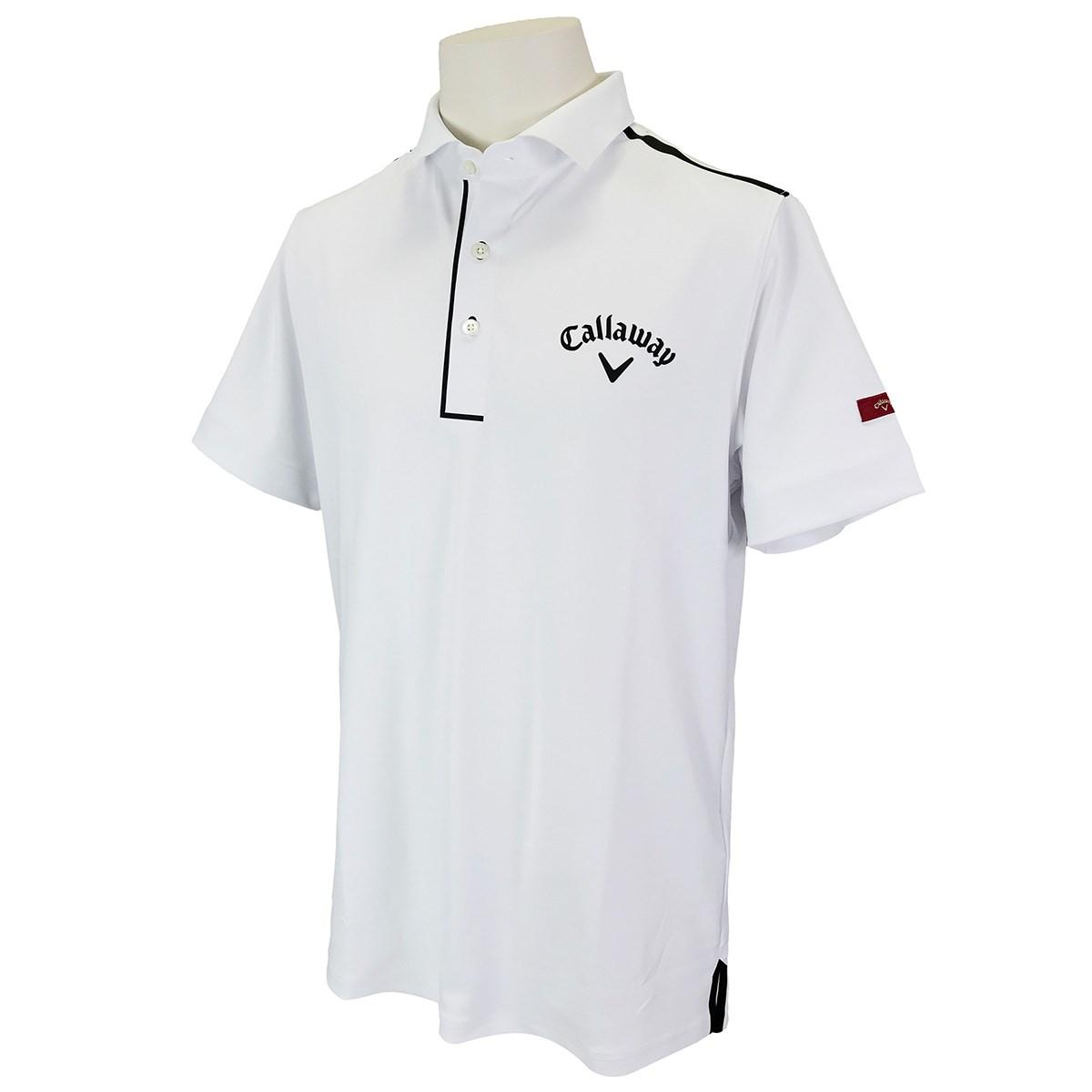 キャロウェイゴルフ CALLAWAY SELECT 半袖ポロシャツ M ホワイト 030