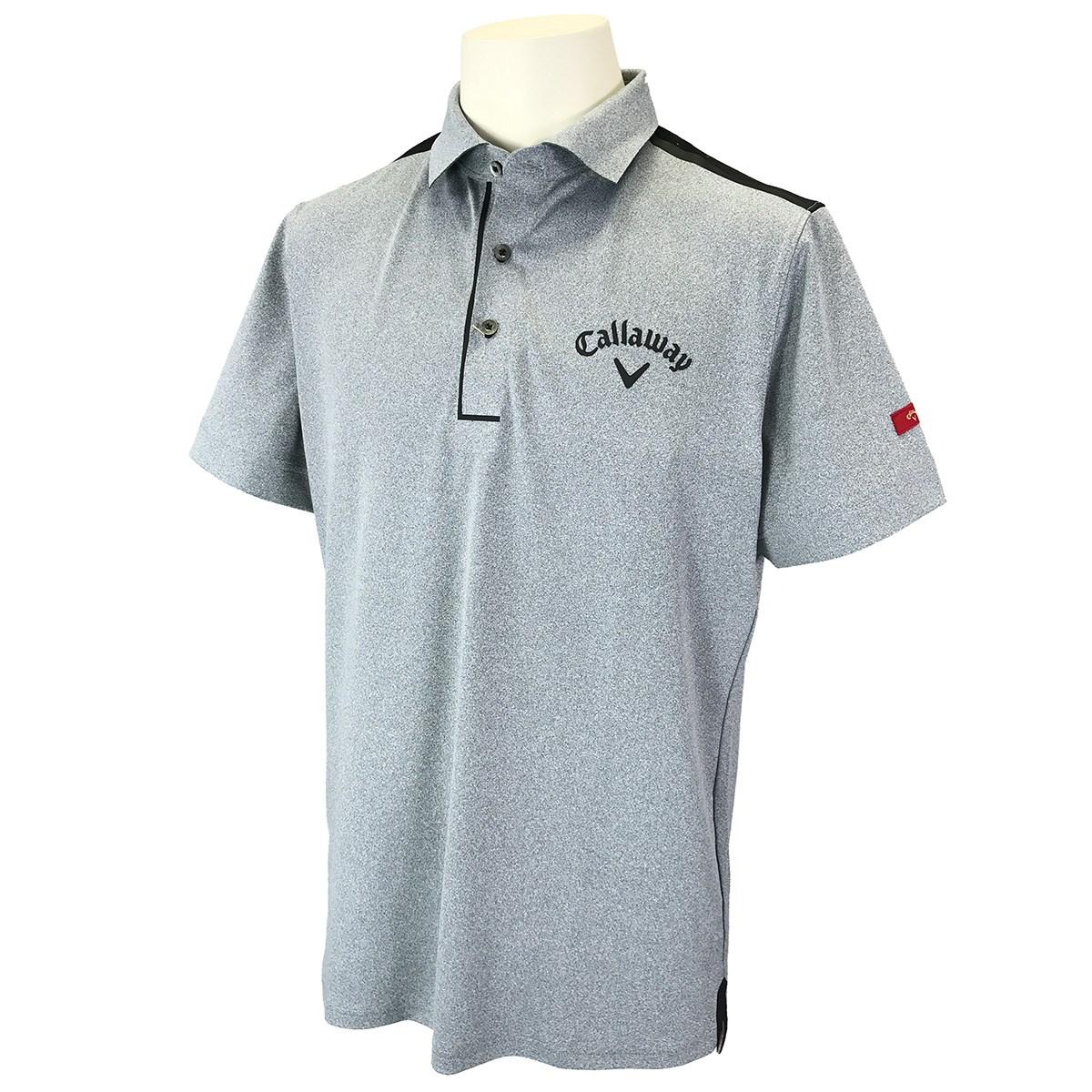 キャロウェイゴルフ CALLAWAY SELECT 半袖ポロシャツ LL グレー 020