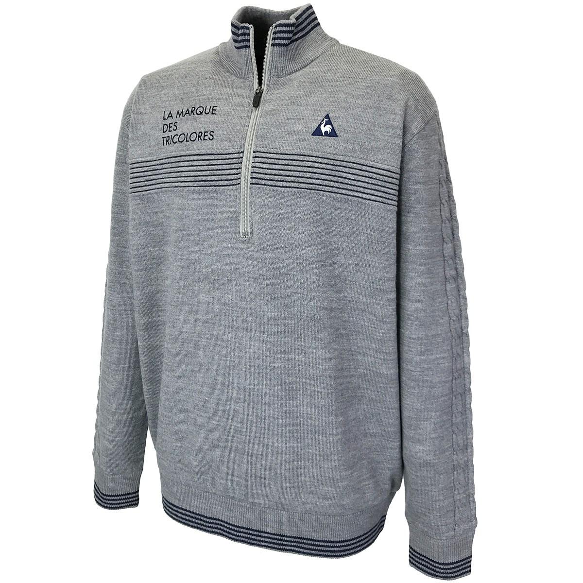 ルコックゴルフ ジップアップ防風裏付きセーター