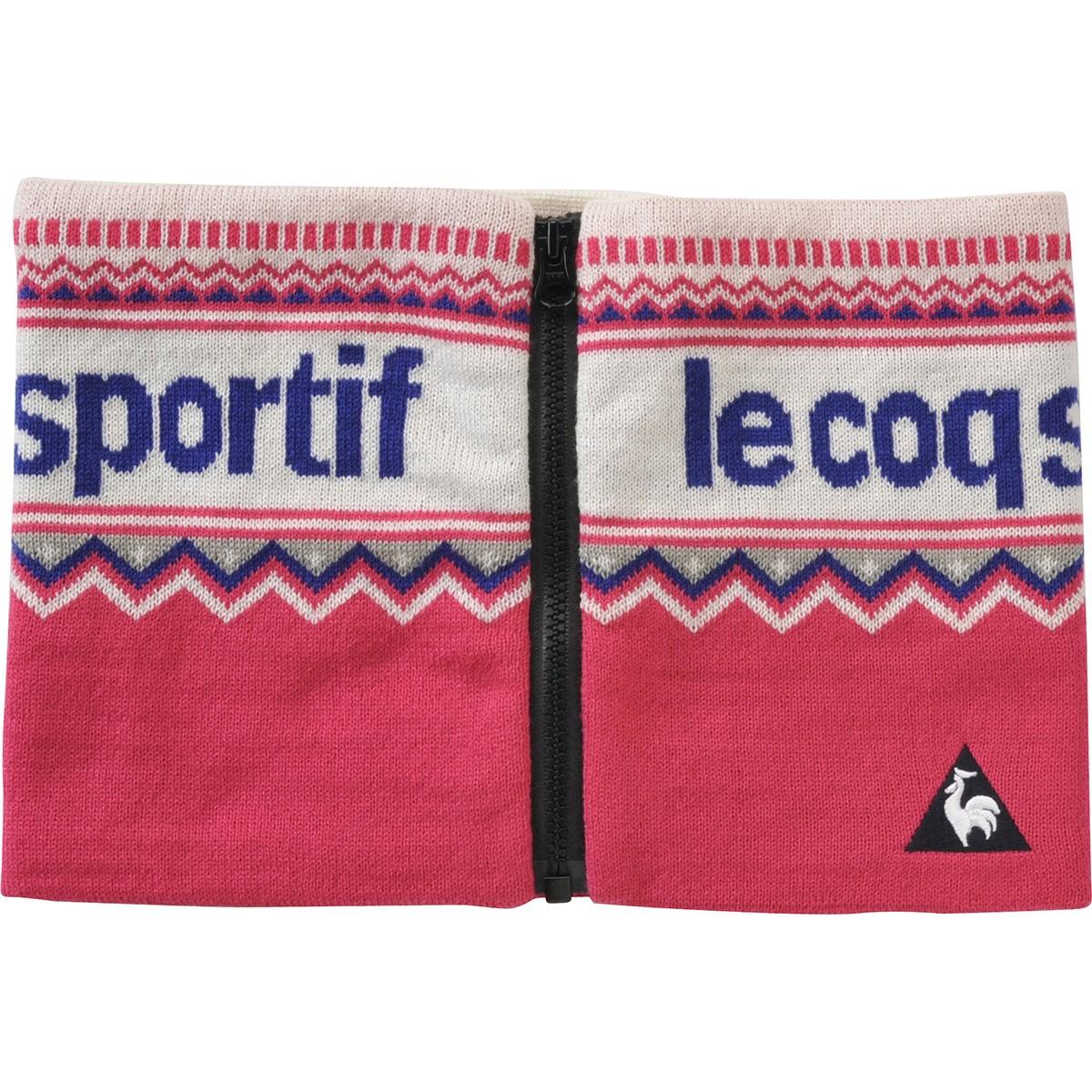 ルコックゴルフ Le coq sportif GOLF ネックウォーマー ピンク 00 フリー レディス