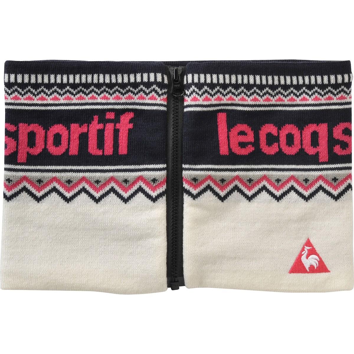 ルコックゴルフ Le coq sportif GOLF ネックウォーマー ホワイト 00 フリー レディス