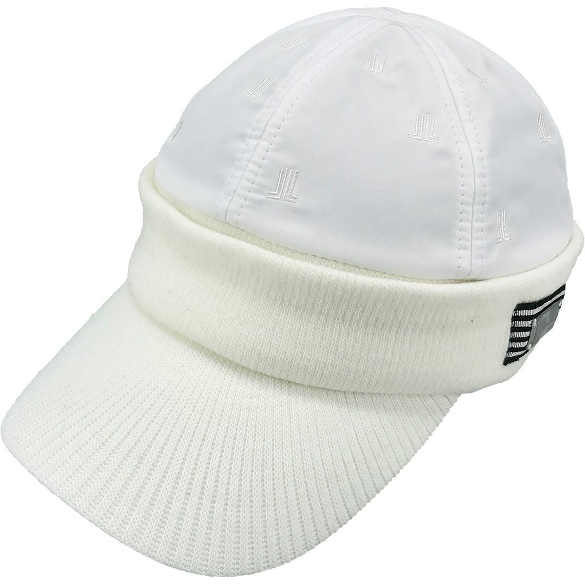 ランバン スポール LANVIN SPORT HEAT NAVI 中綿キャップ フリー ホワイト 01 レディス