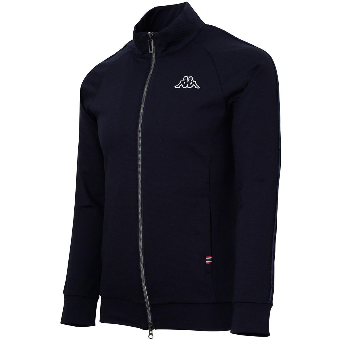 Collezione Italia 袖パイピング ニットジャケット