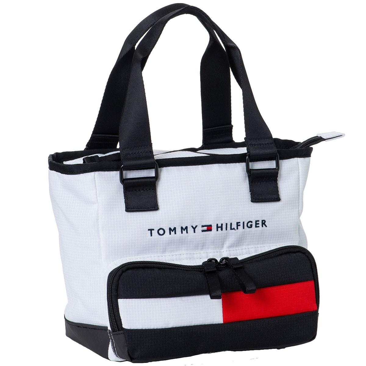 トミー ヒルフィガー ゴルフ TOMMY HILFIGER GOLF SOLID ラウンドバッグ ホワイト 00