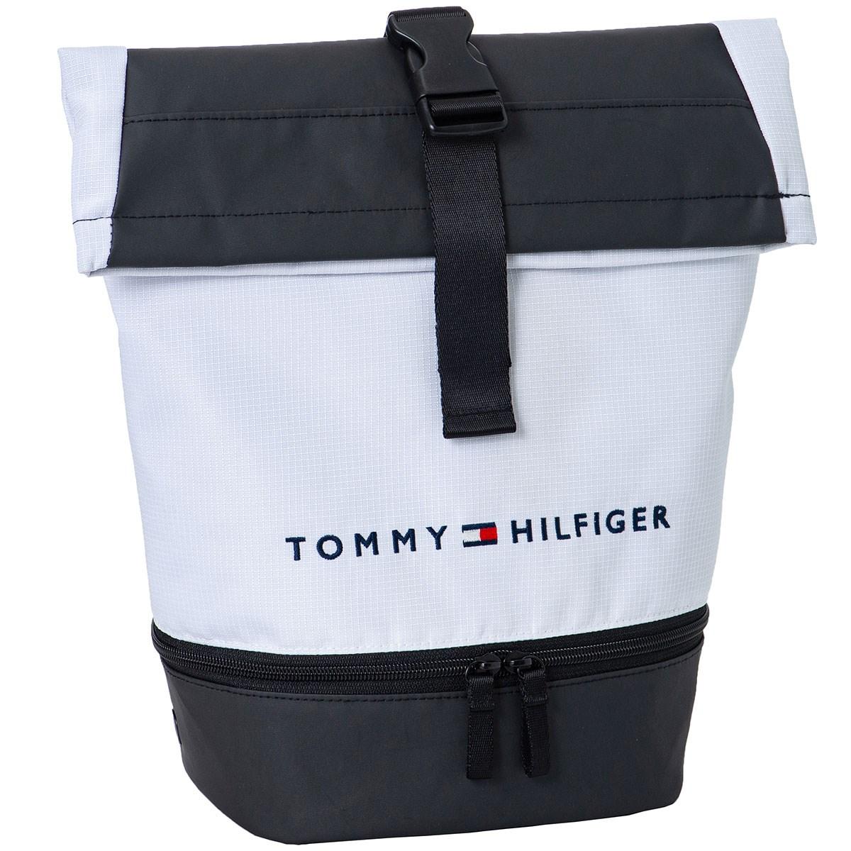 [2020年モデル] トミー ヒルフィガー ゴルフ SOLID シューズケース ホワイト 00 メンズ
