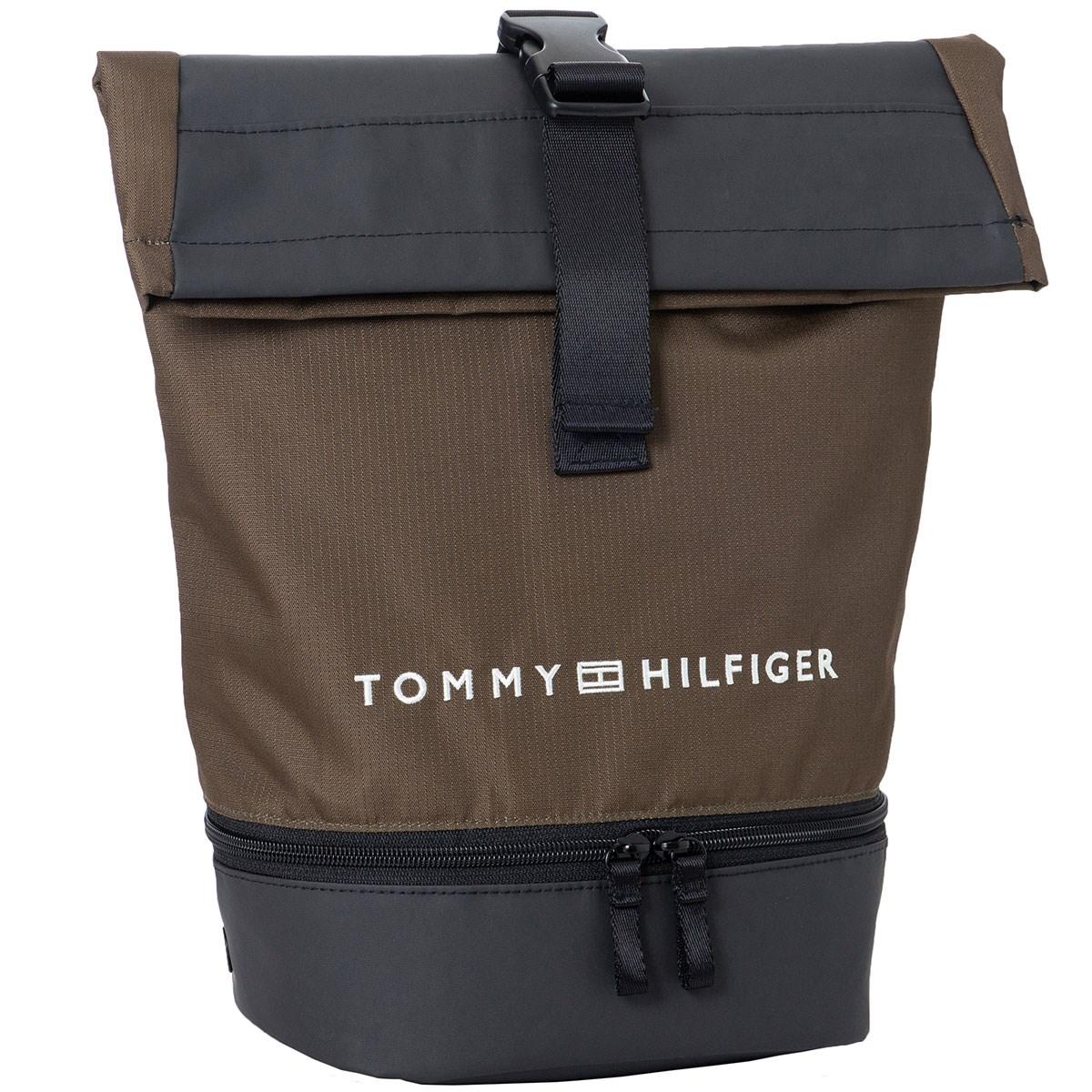 [2020年モデル] トミー ヒルフィガー ゴルフ SOLID シューズケース カーキ 65 メンズ