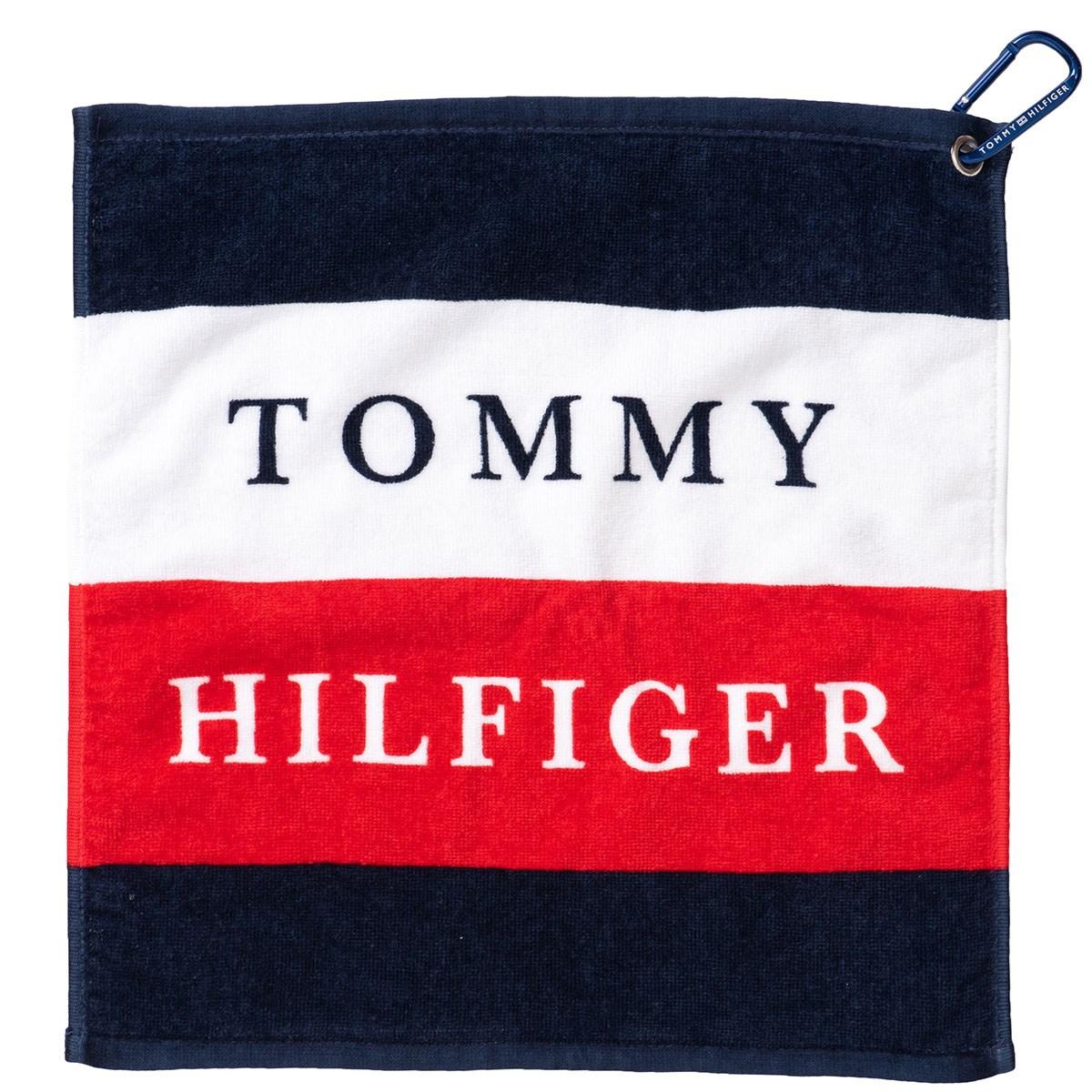 トミー ヒルフィガー ゴルフ TOMMY HILFIGER GOLF SQUARE タオル トリコロール 90
