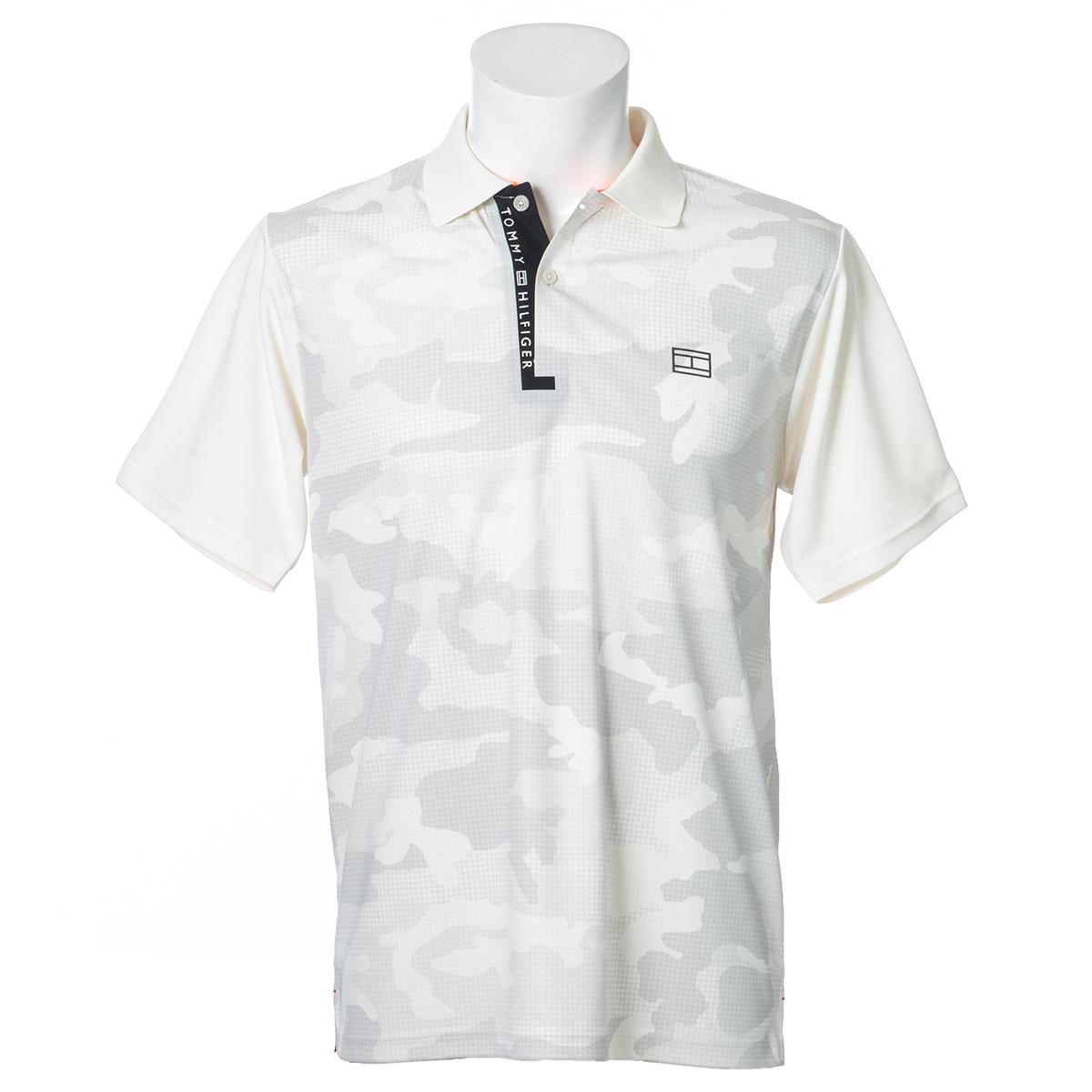 カモフラージュ半袖ポロシャツ