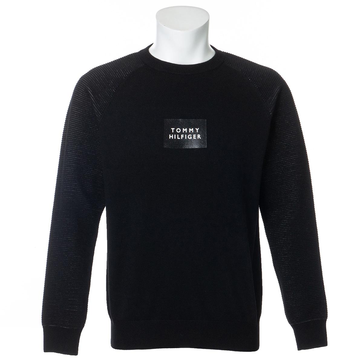 モノクローム クルーネックセーター