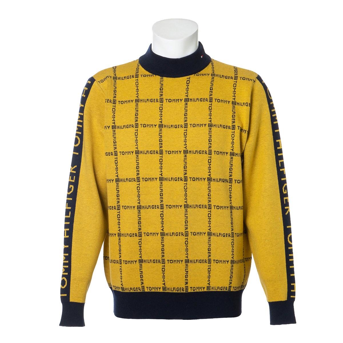 トミーヒルフィガー(Tommy Hilfiger) ロゴチェック ハイネックセーター