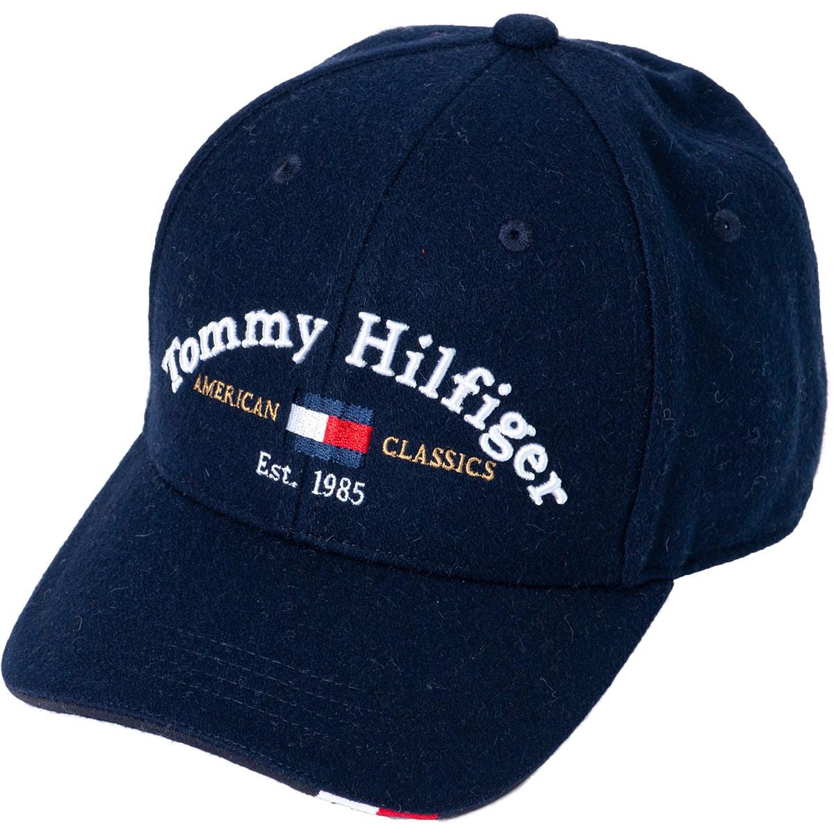 トミー ヒルフィガー ゴルフ TOMMY HILFIGER GOLF BRUシャツED ツイルキャップ フリー ネイビー 30