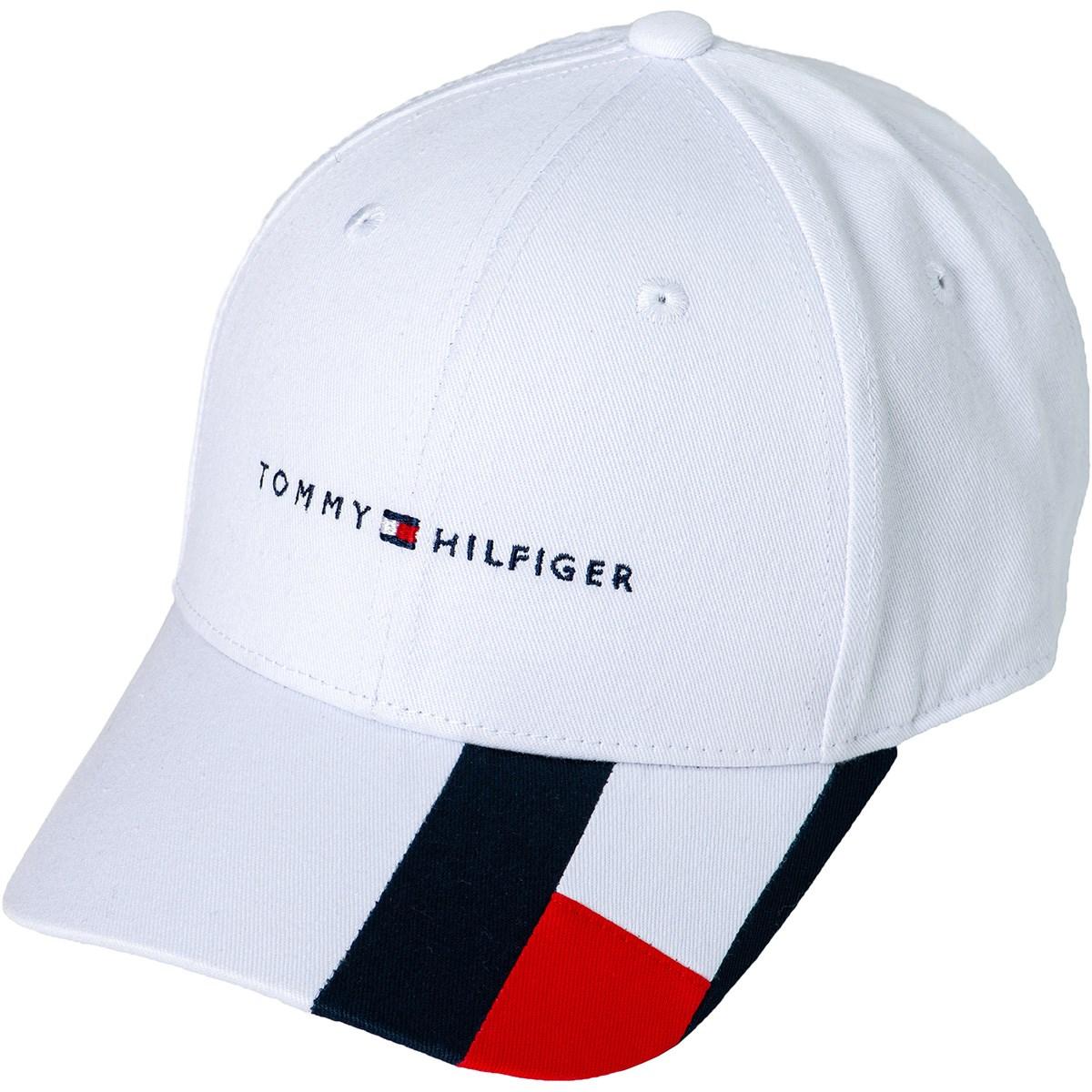 トミー ヒルフィガー ゴルフ TOMMY HILFIGER GOLF BRIM FLAG キャップ フリー ホワイト 00