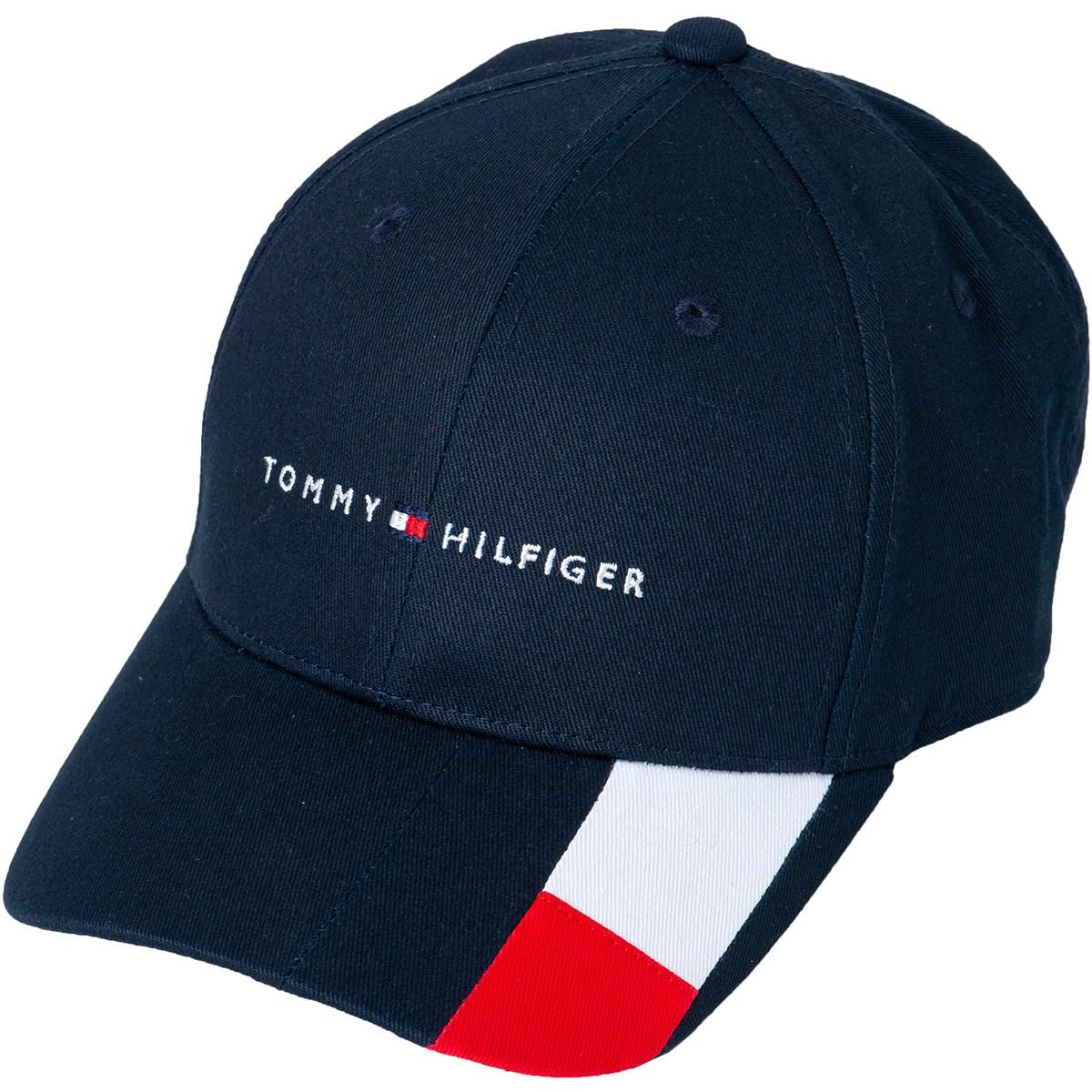 トミー ヒルフィガー ゴルフ TOMMY HILFIGER GOLF BRIM FLAG キャップ フリー ネイビー 30
