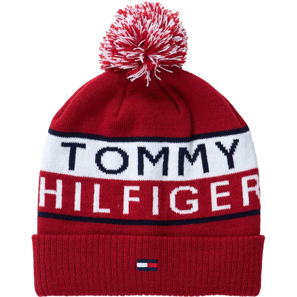トミー ヒルフィガー ゴルフ TOMMY HILFIGER GOLF ビーニー フリー レッド 40 レディス