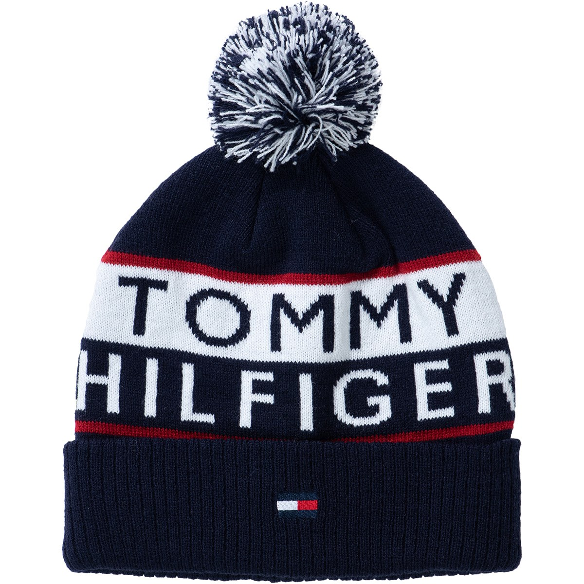 トミー ヒルフィガー ゴルフ TOMMY HILFIGER GOLF ビーニー フリー ネイビー 30 レディス