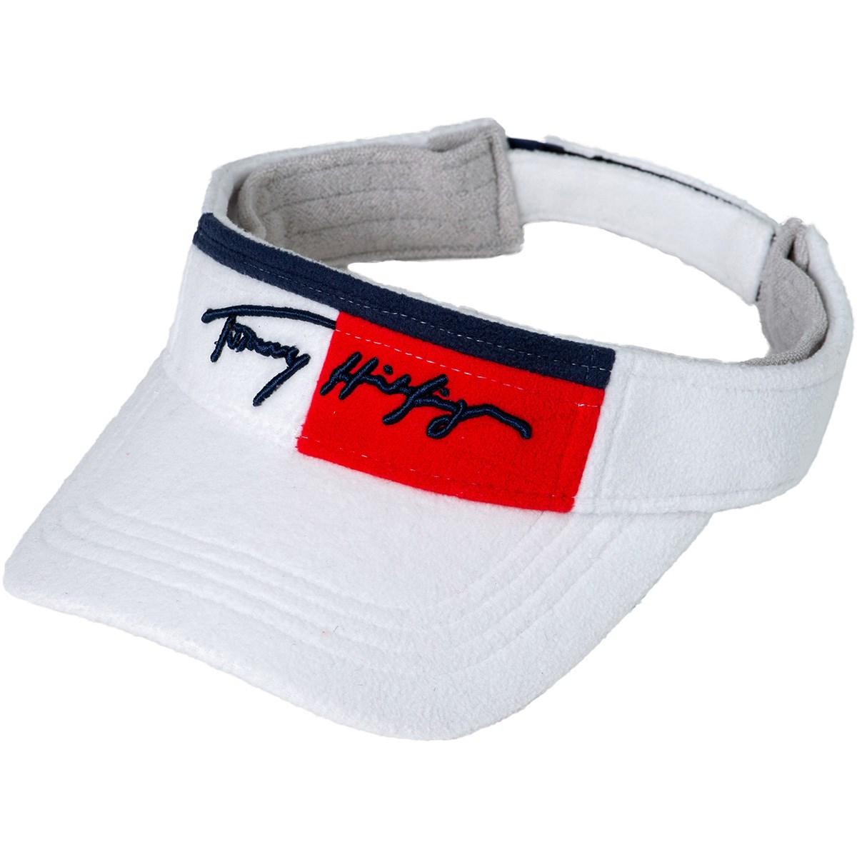 トミー ヒルフィガー ゴルフ TOMMY HILFIGER GOLF ボアサンバイザー フリー ホワイト 00 レディス