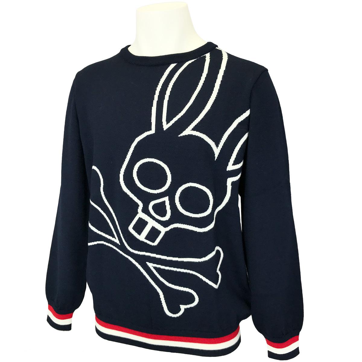 ビッグロゴ クルーネックセーター