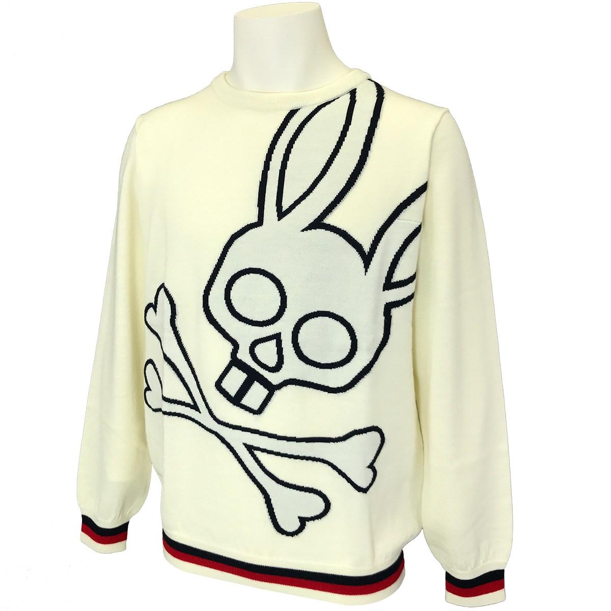 サイコバニー ビッグロゴ クルーネックセーター