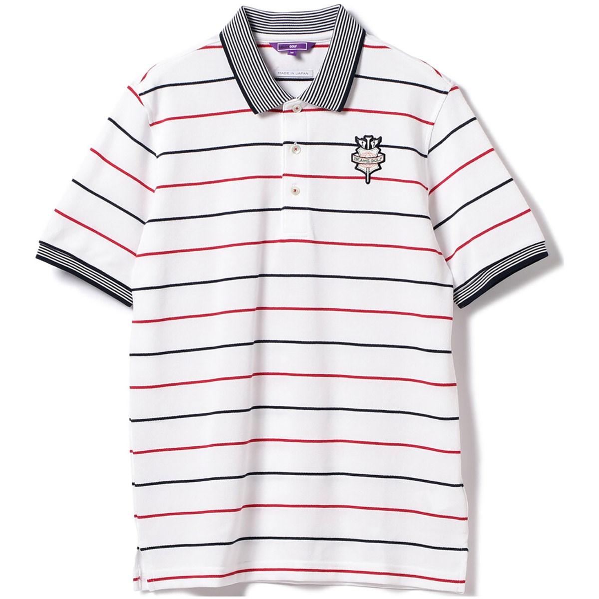 ビームスゴルフ BEAMS GOLF PURPLE LABEL ボーダー ポロシャツ