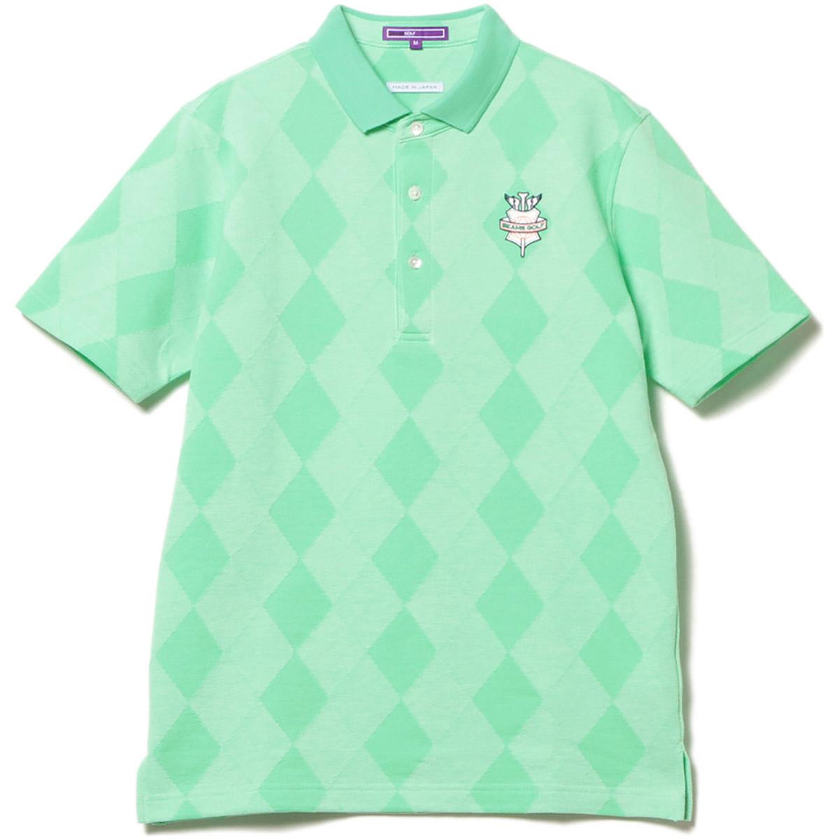 BEAMS GOLF PURPLE LABEL アーガイル ポロシャツ