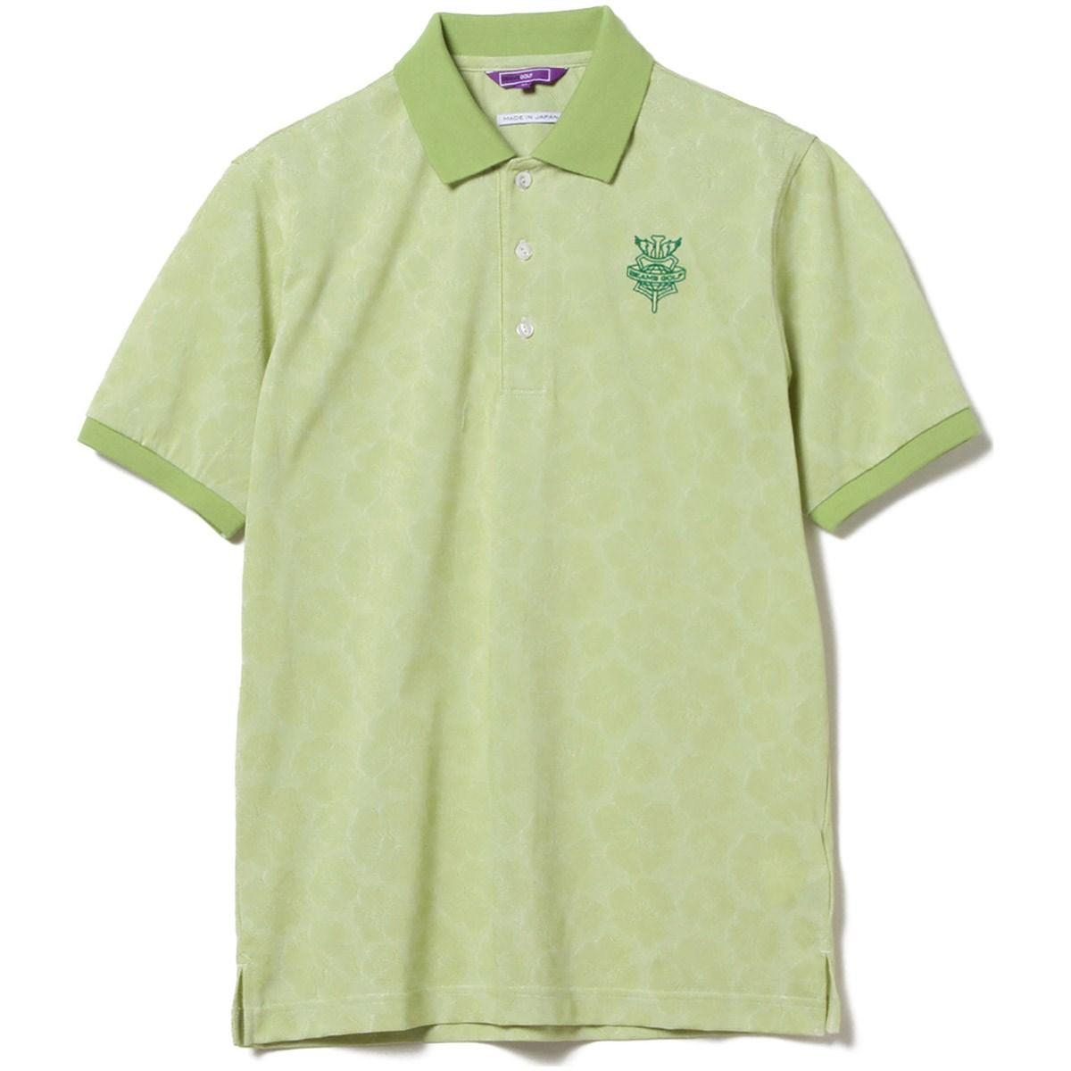 ビームスゴルフ BEAMS GOLF PURPLE LABEL MONTAUK ハイビスカス ポロシャツ