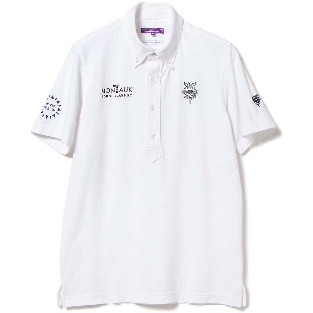 ビームスゴルフ BEAMS GOLF PURPLE LABEL MONTAUK ボタンダウン ポロシャツ