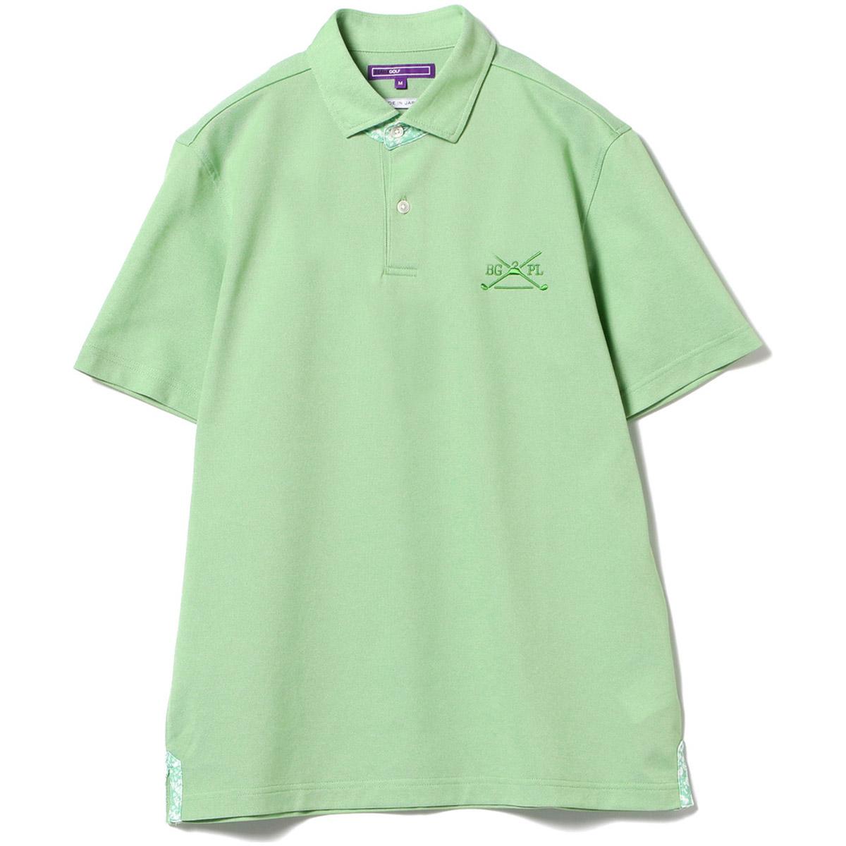 BEAMS GOLF PURPLE LABEL アロフト 鹿の子 ポロシャツ