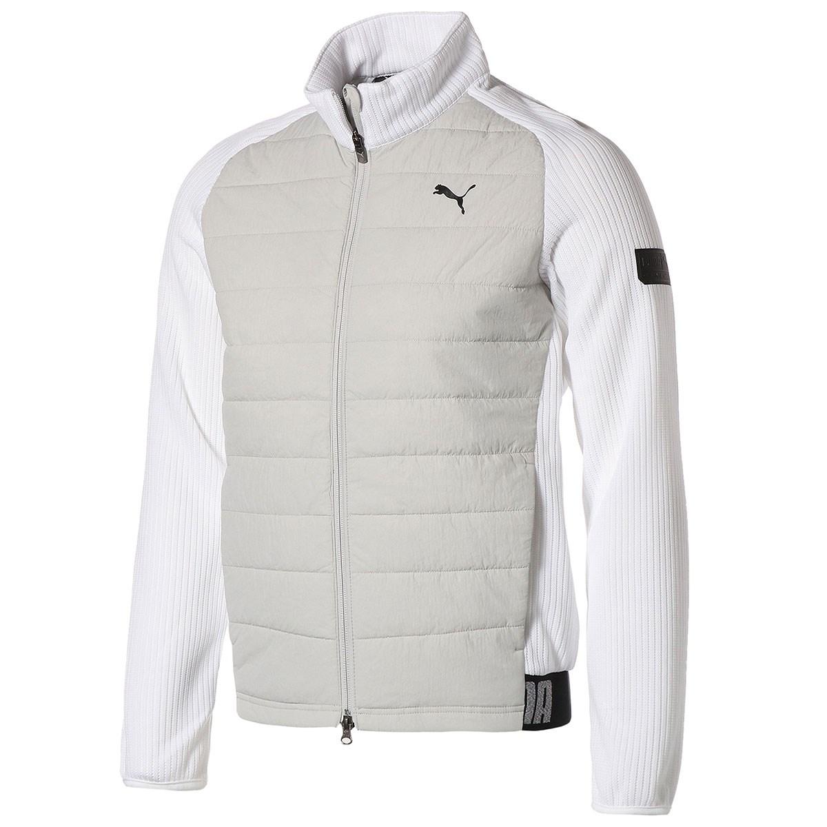 プーマ PUMA ミックスパデッド ジャケット M ブライトホワイト 03
