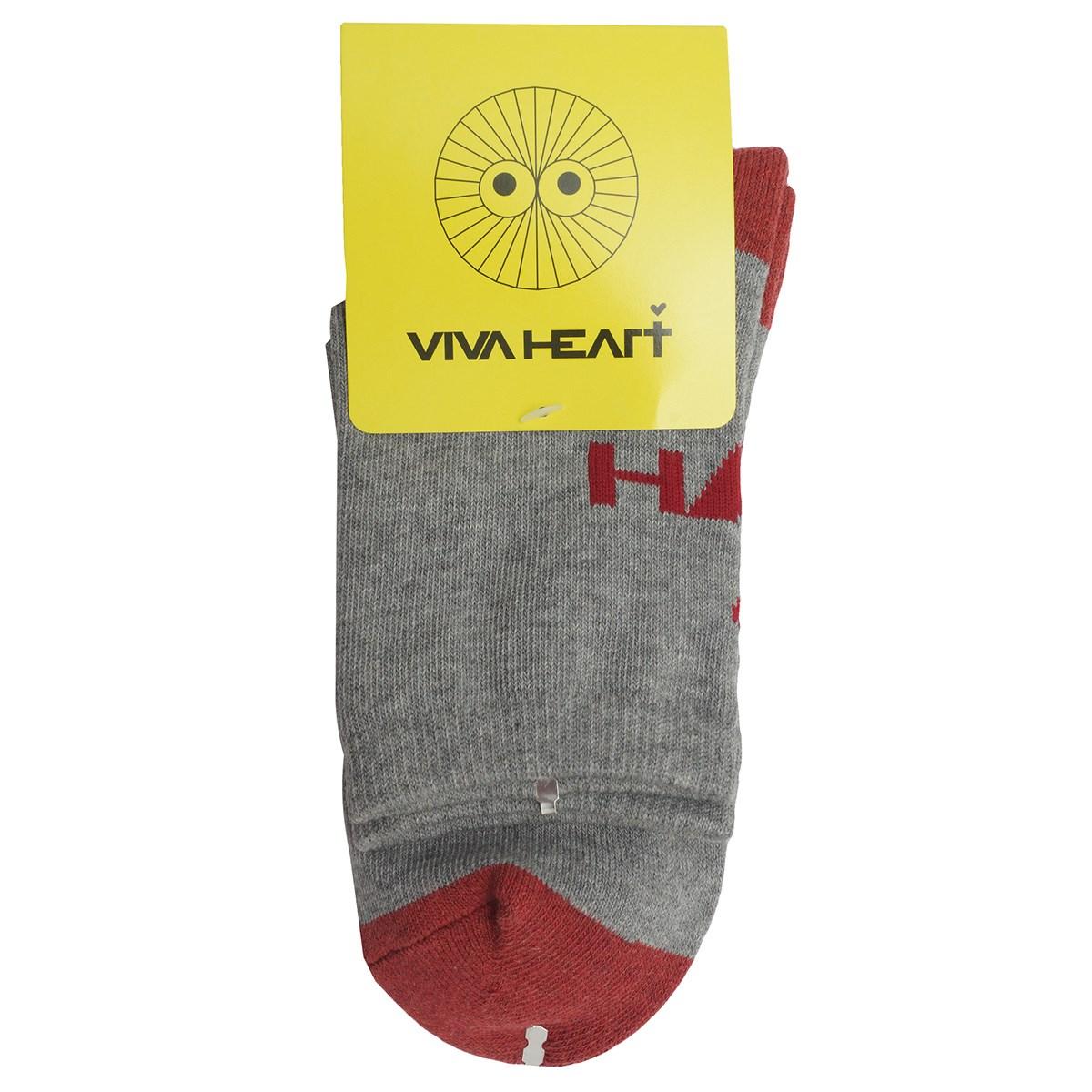 ビバハート VIVA HEART レギュラーソックス フリー グレー 013 レディス