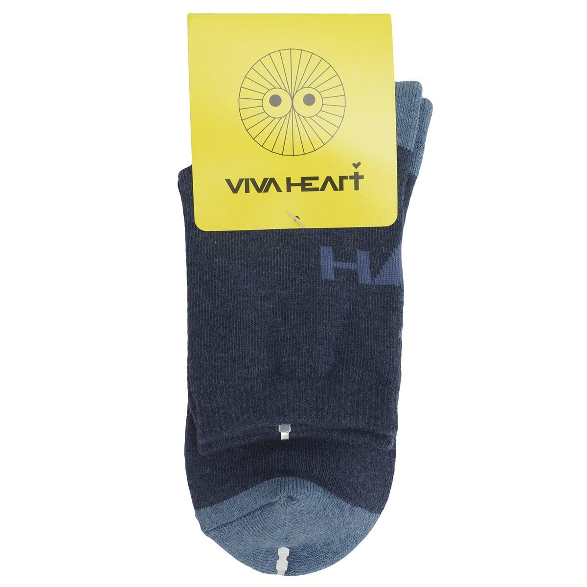 ビバハート VIVA HEART レギュラーソックス フリー ネイビー 098 レディス