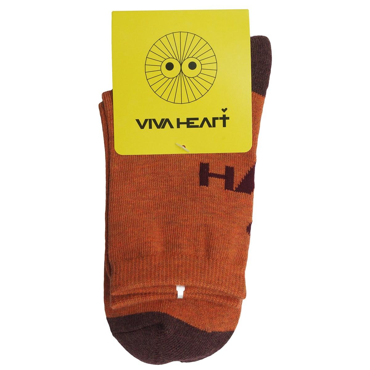 ビバハート VIVA HEART レギュラーソックス フリー オレンジ 035 レディス