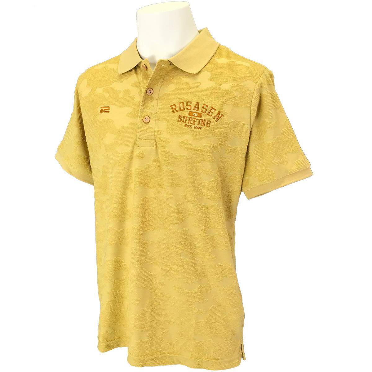 パイルジャカード半袖ポロシャツ