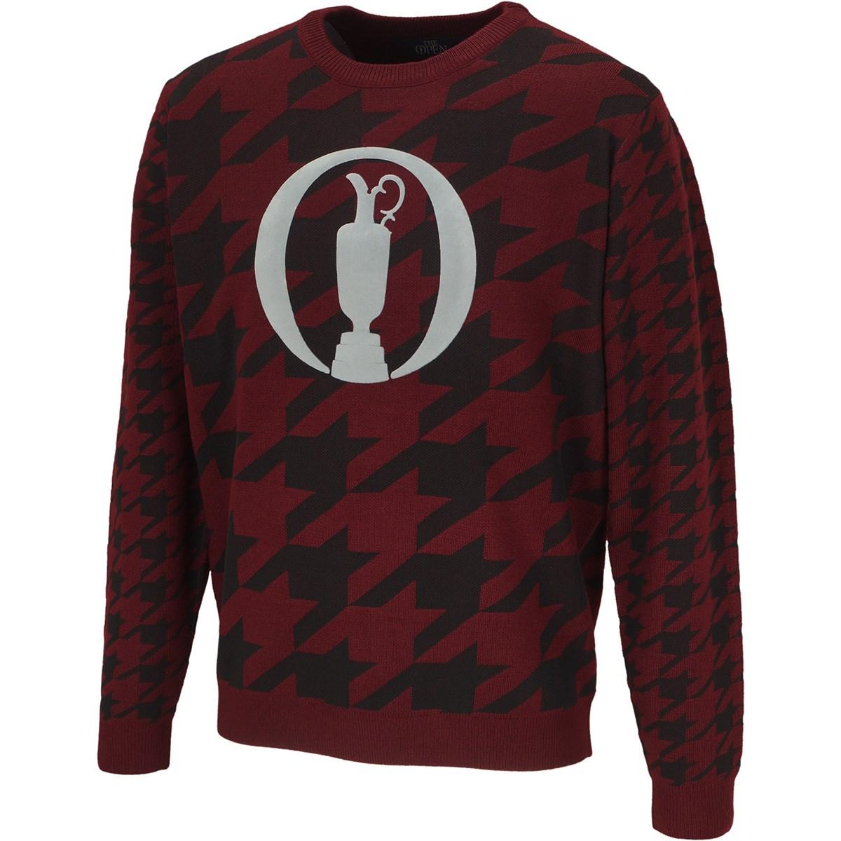 ジ オープン ハウンドトゥースジャカードセーター