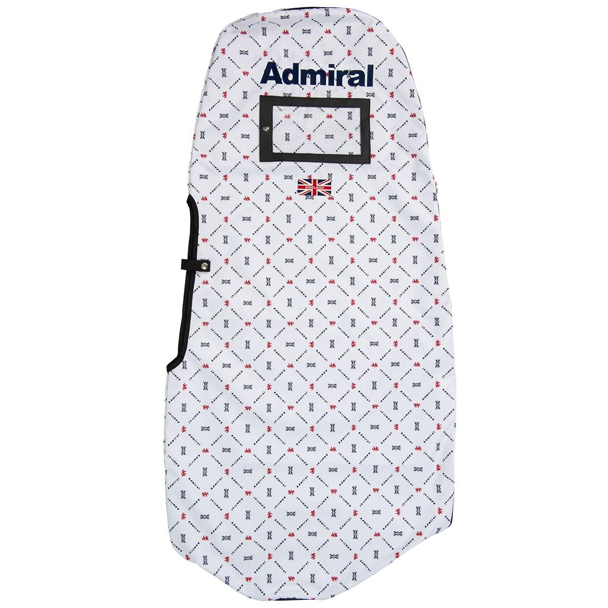 アドミラル Admiral モノグラムトラベルカバー ホワイト 00