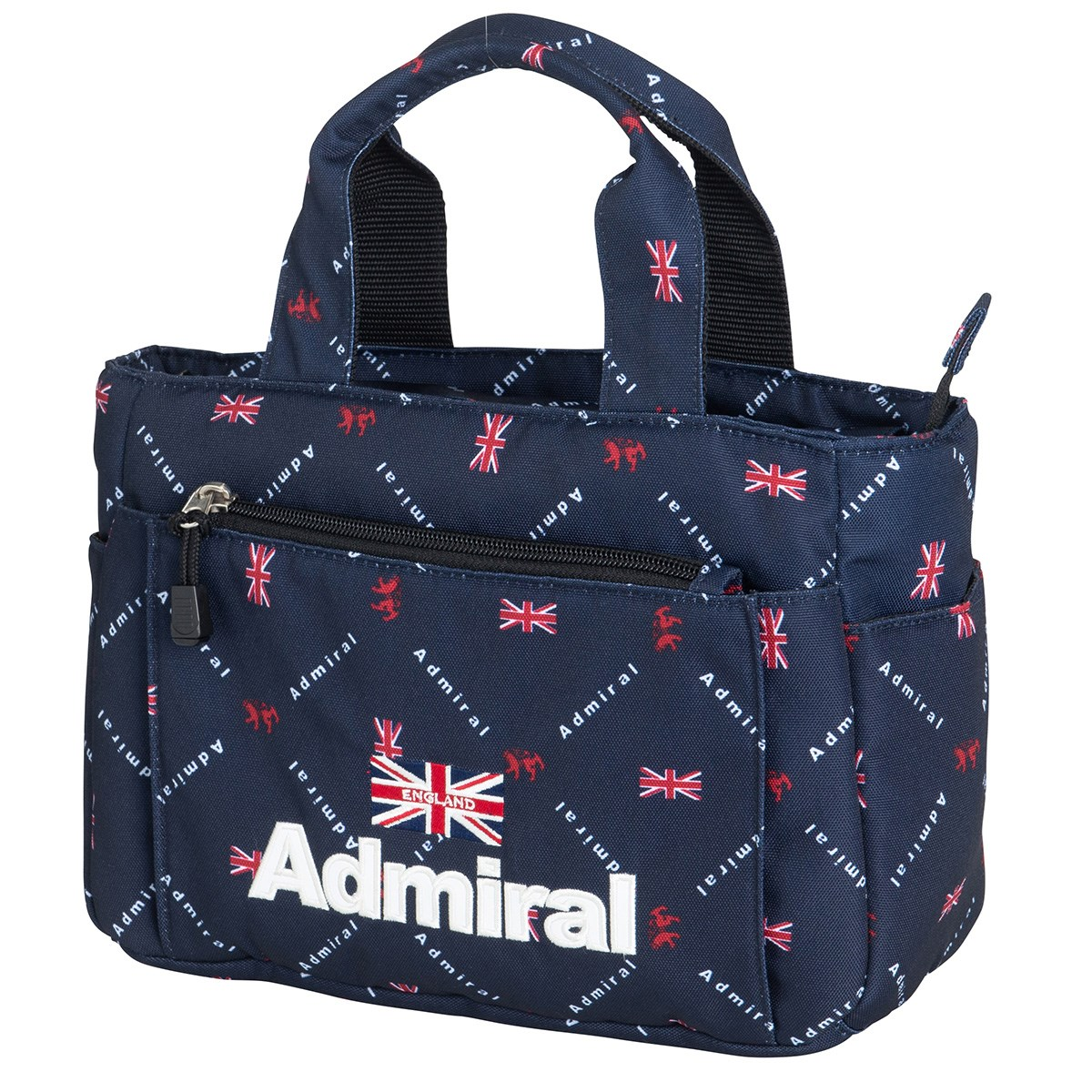 アドミラル Admiral モノグラムラウンドバッグ ネイビー 30
