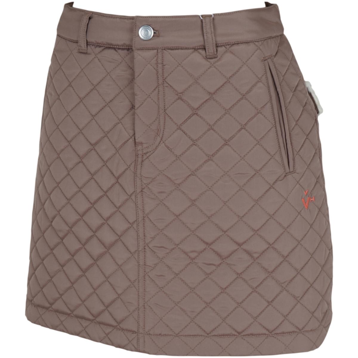 タフタキルト中綿スカート