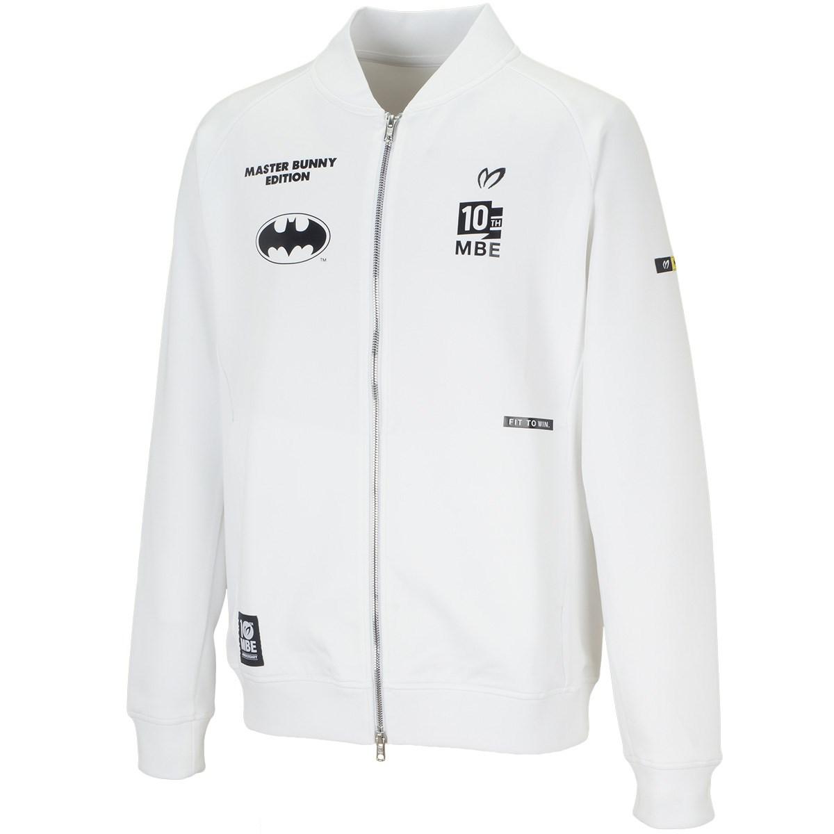 マスターバニーエディション BATMAN ストレッチダンボールスウェットジャケット