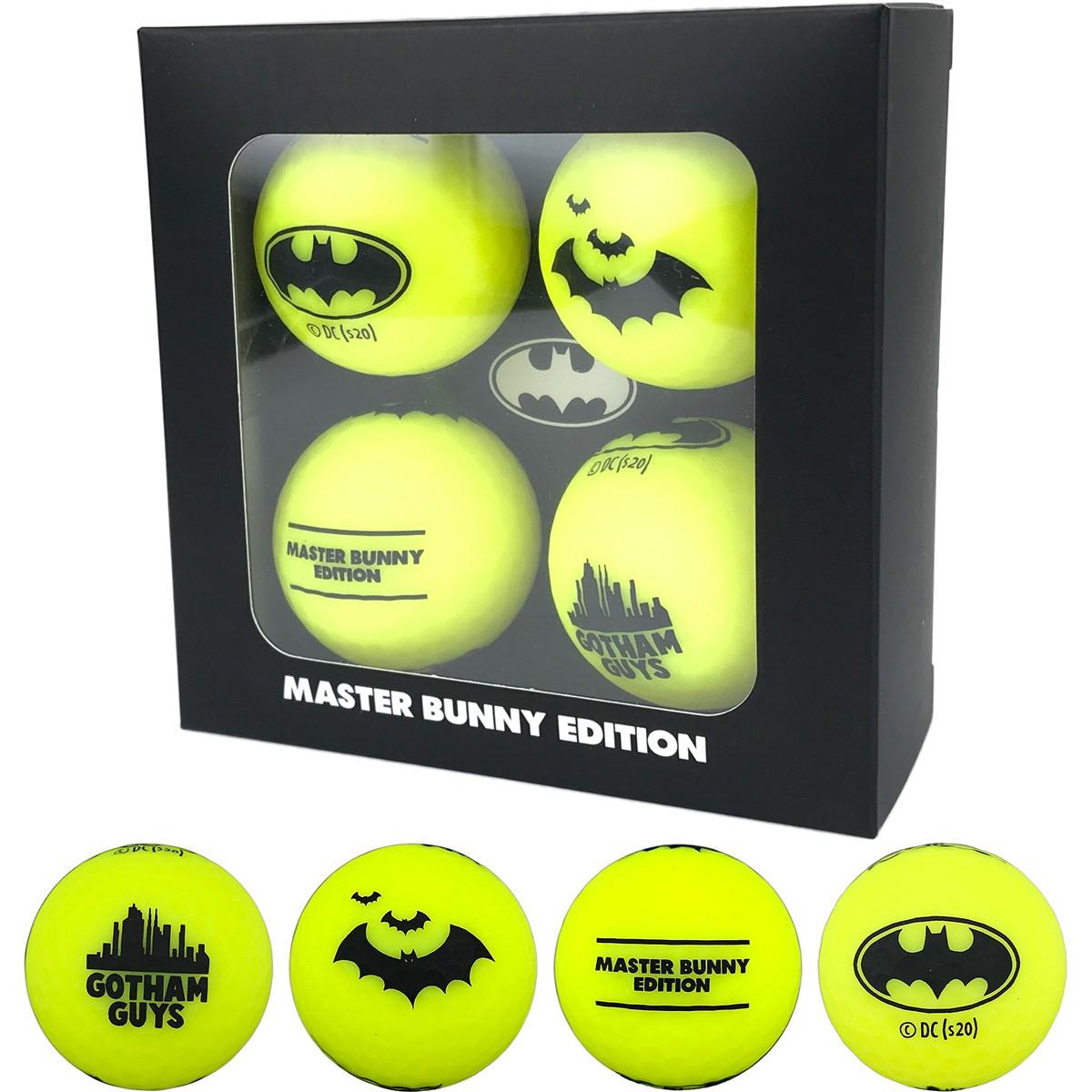 マスターバニーエディション BATMAN ボール 4個セット【非公認球】
