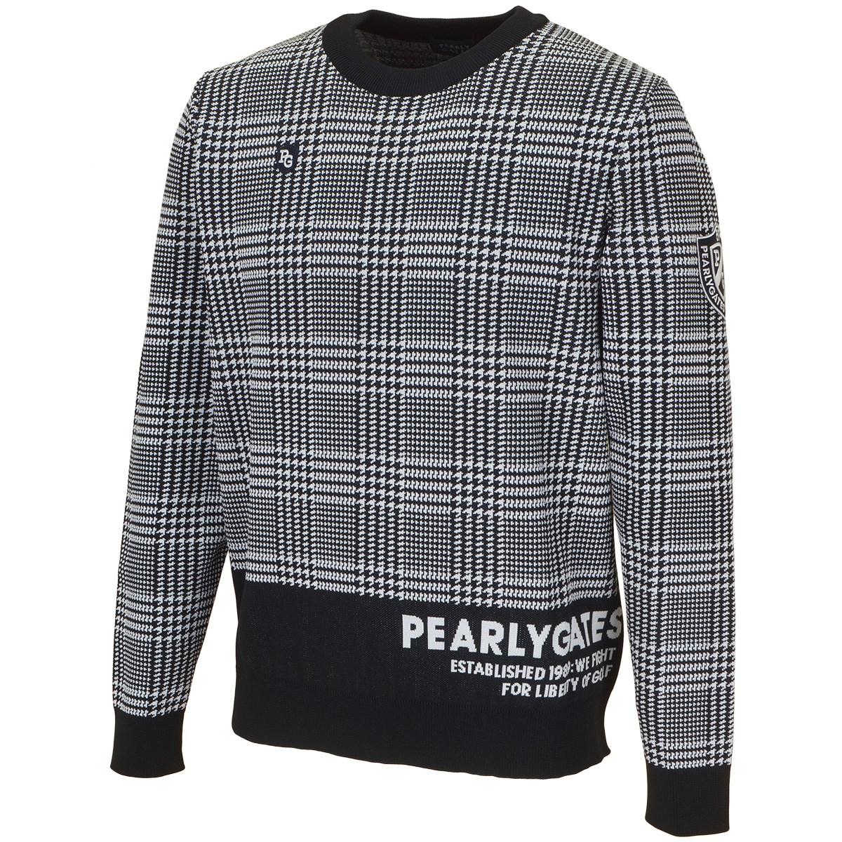 パーリーゲイツ グレンチェック 長袖セーター