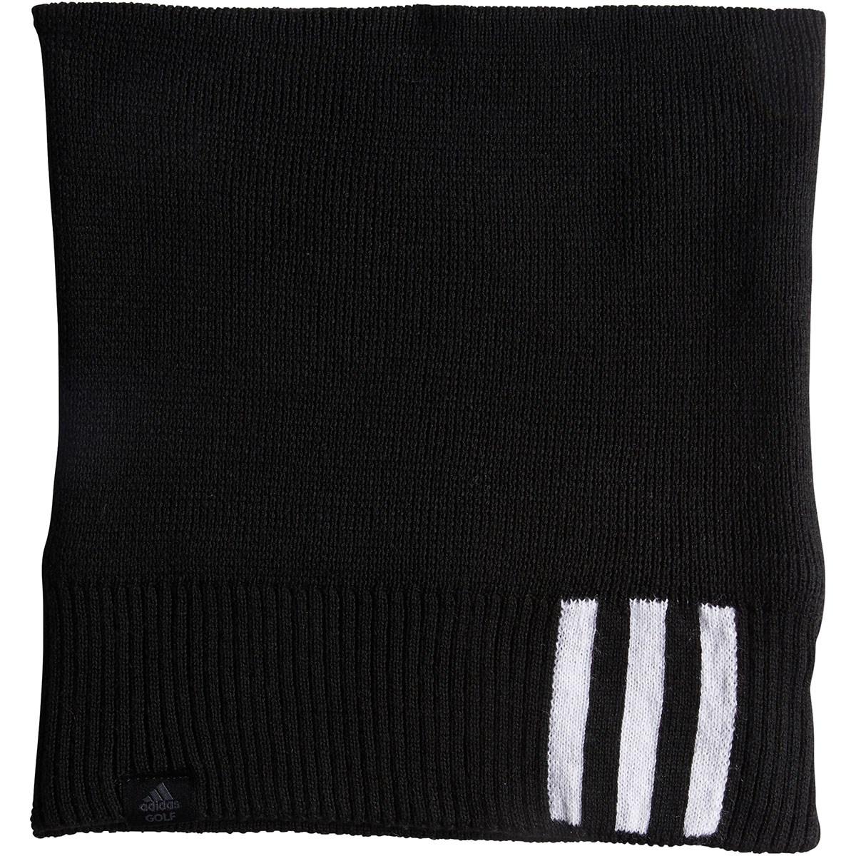 アディダス Adidas 3ストライプネックウォーマー ブラック フリー レディス