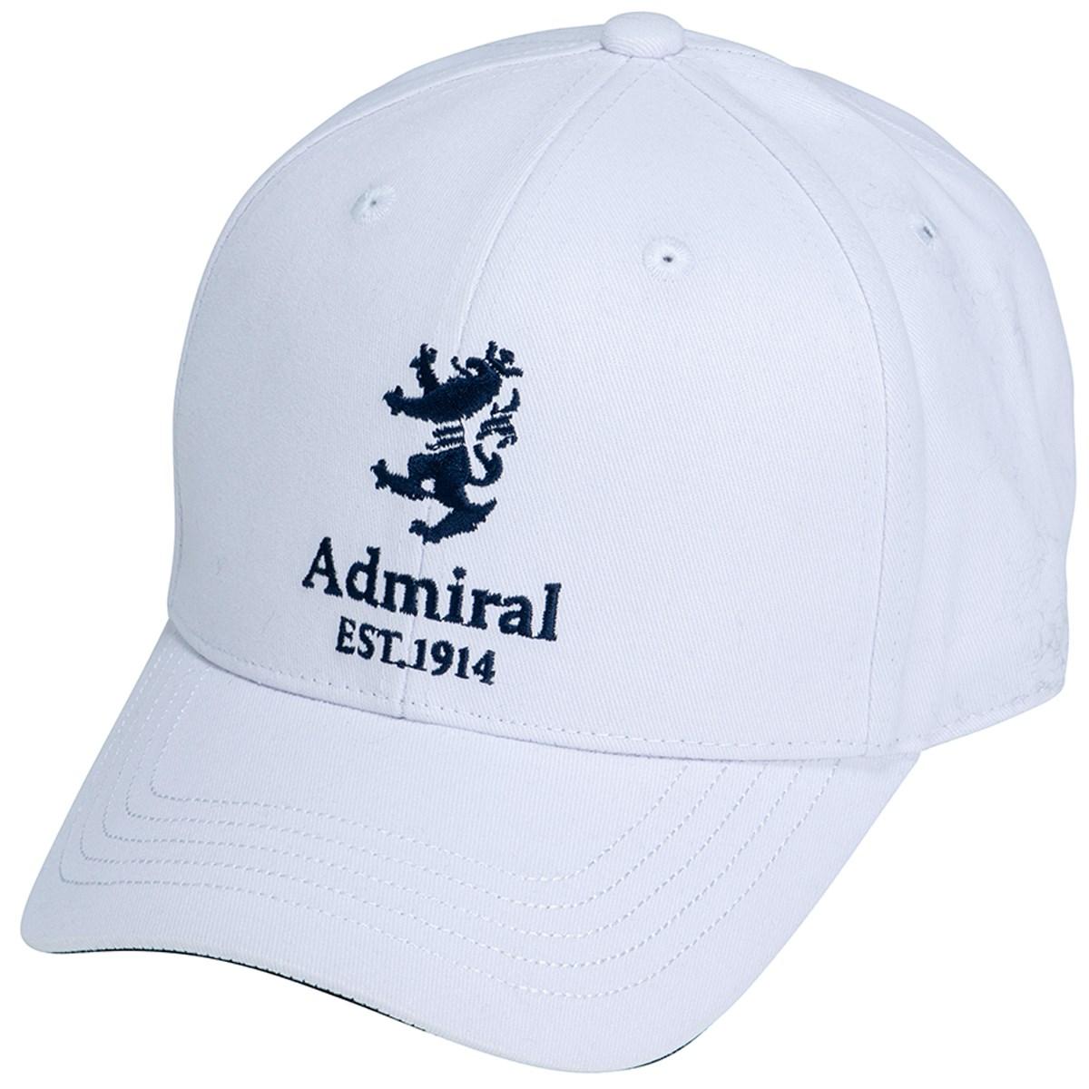 アドミラル Admiral ランパント起毛ツイル キャップ フリー ホワイト 00