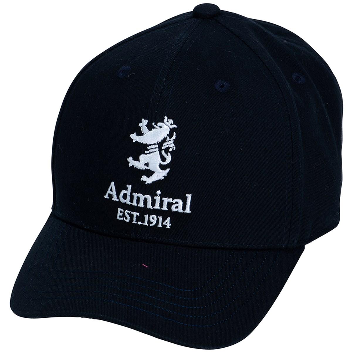アドミラル Admiral ランパント起毛ツイル キャップ フリー ネイビー 30