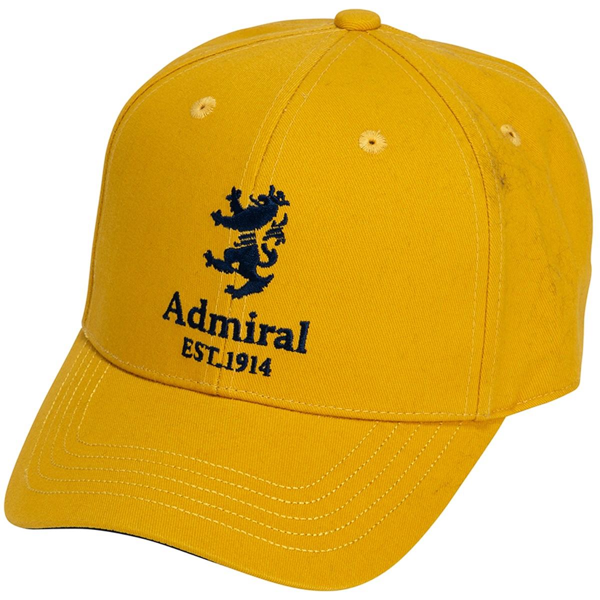アドミラル Admiral ランパント起毛ツイル キャップ フリー マスタード 75