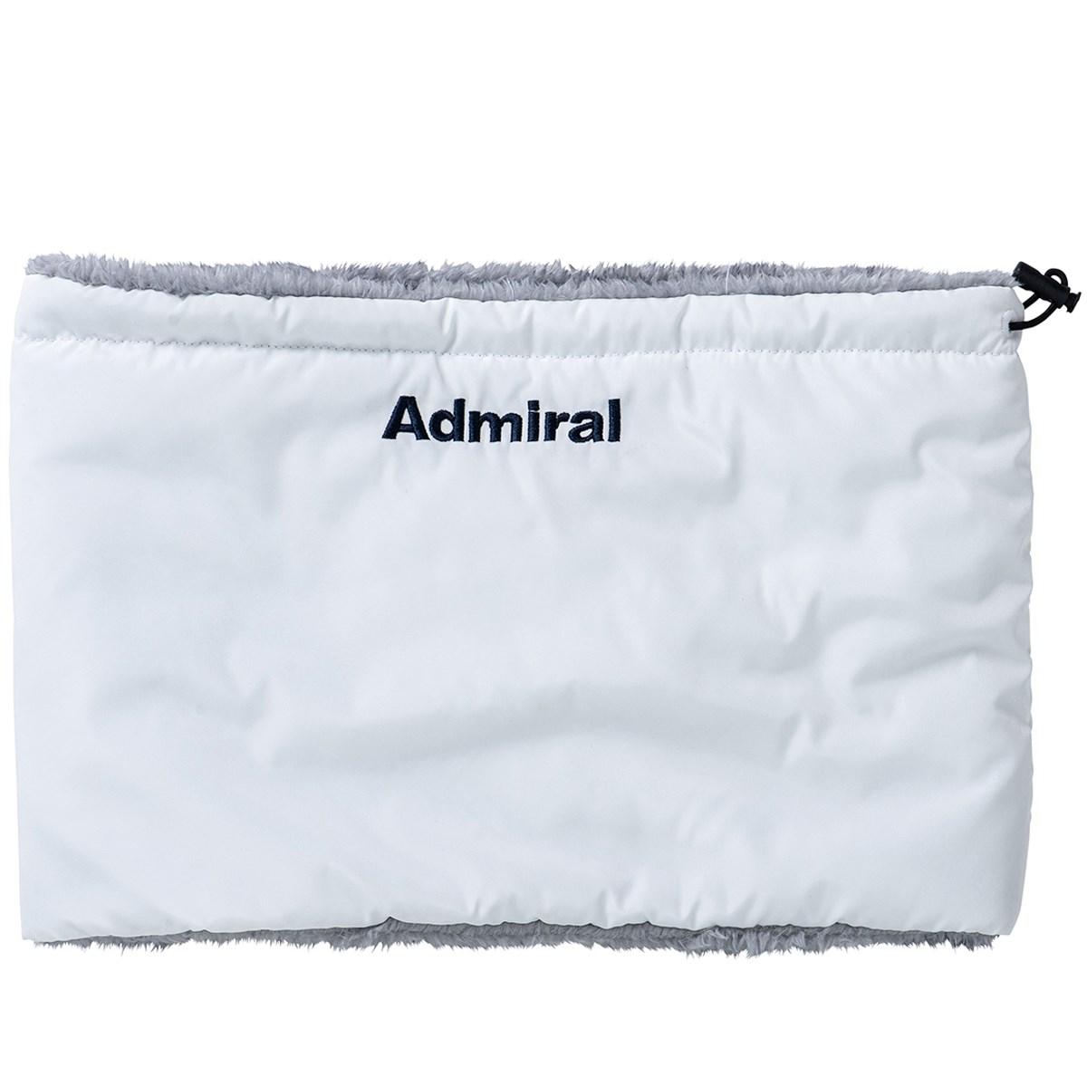 アドミラル Admiral ファーネックウォーマー ホワイト 00 フリー レディス