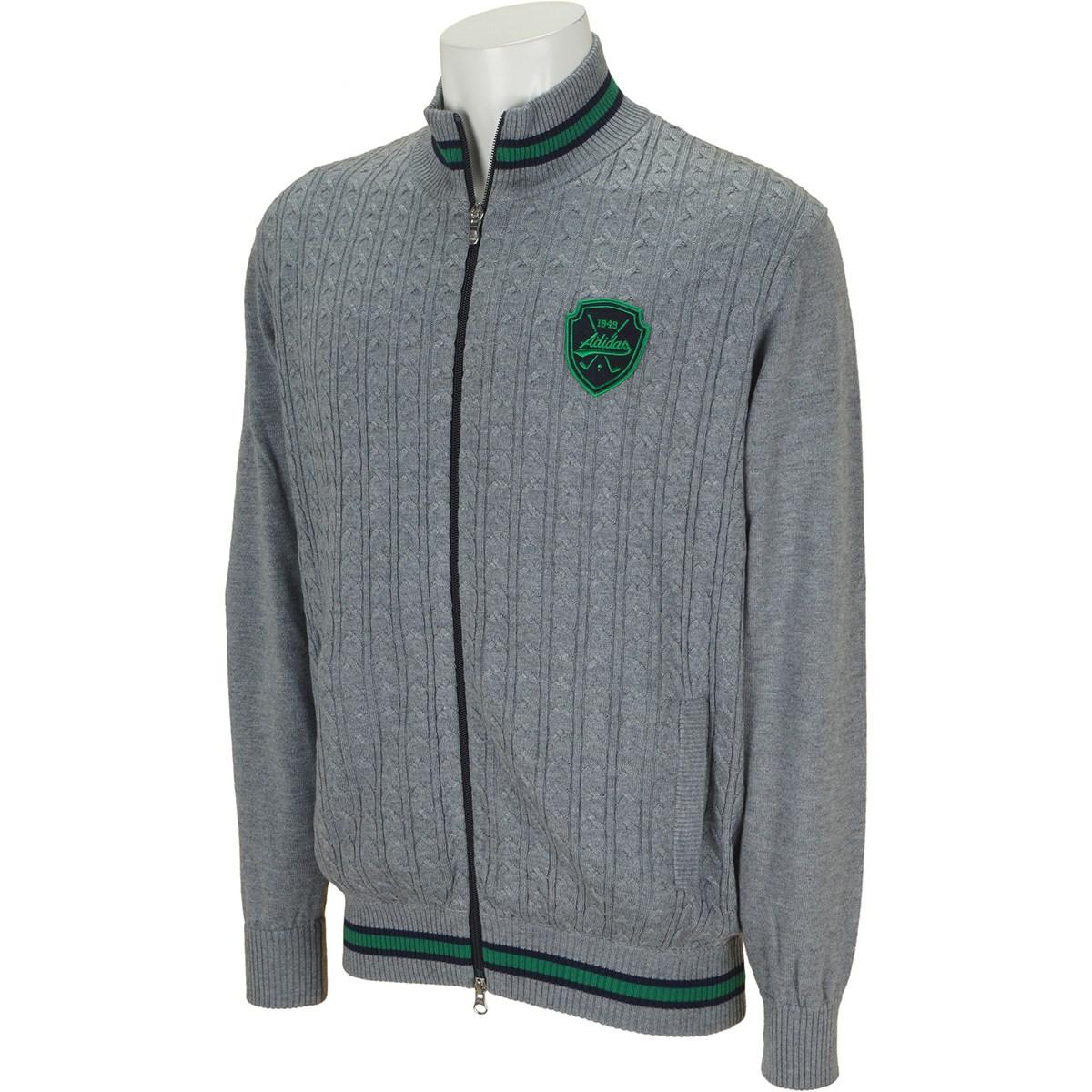 アディダス(adidas) フルジップセーター