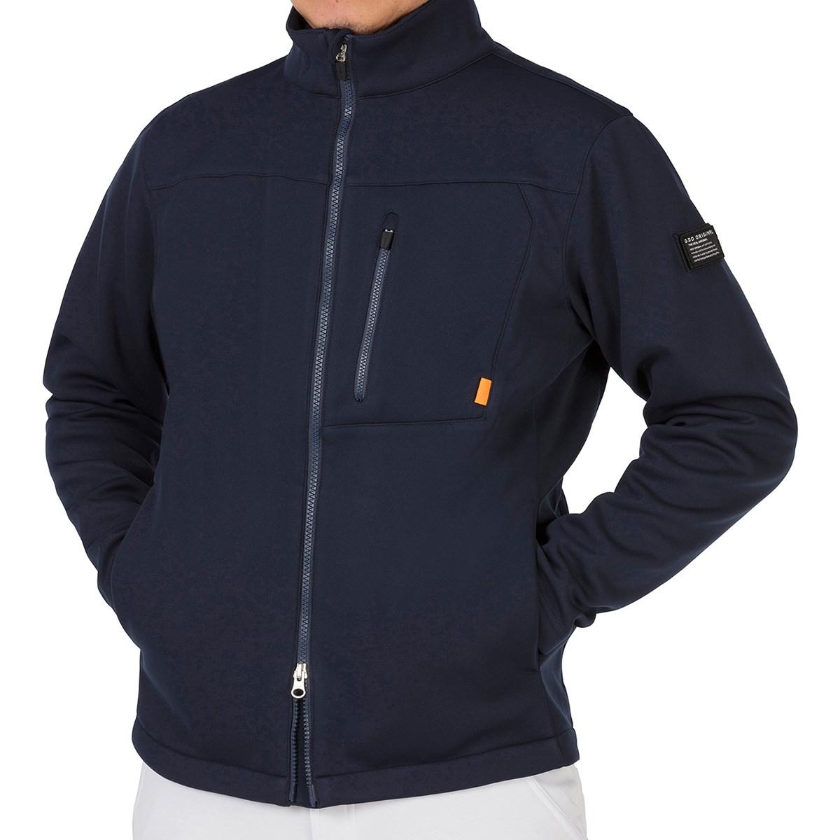 GDO オリジナル GDO ORIGINAL 裏フリースボンディングジャケット XL ネイビー