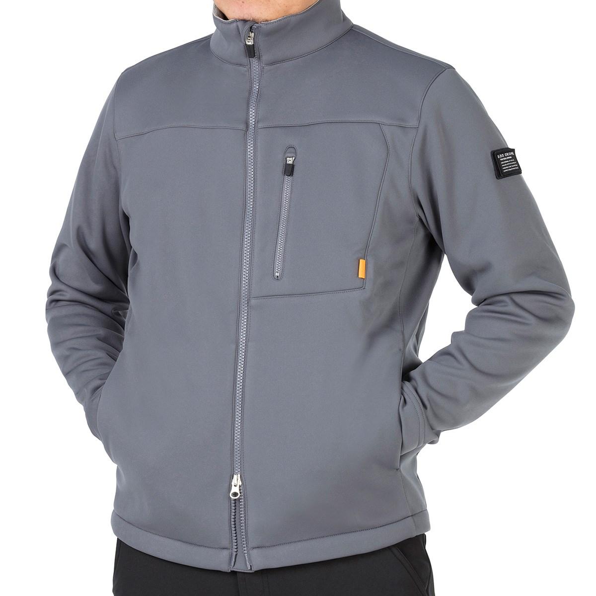 GDO オリジナル GDO ORIGINAL 裏フリースボンディングジャケット XXL グレー