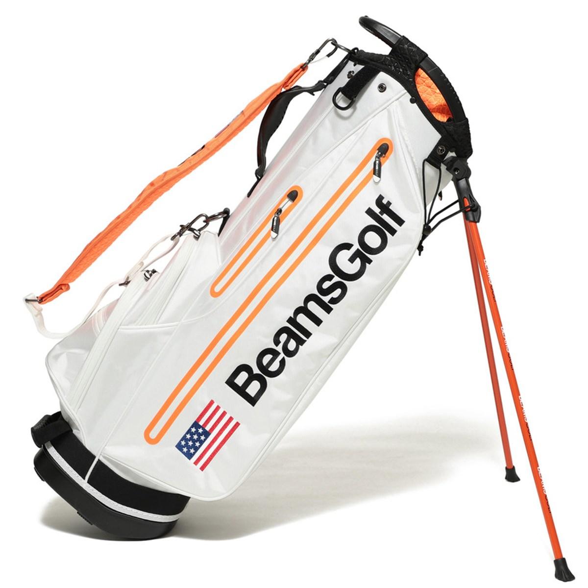 ビームスゴルフ BEAMS GOLF スペースカラー スタンド キャディバッグ